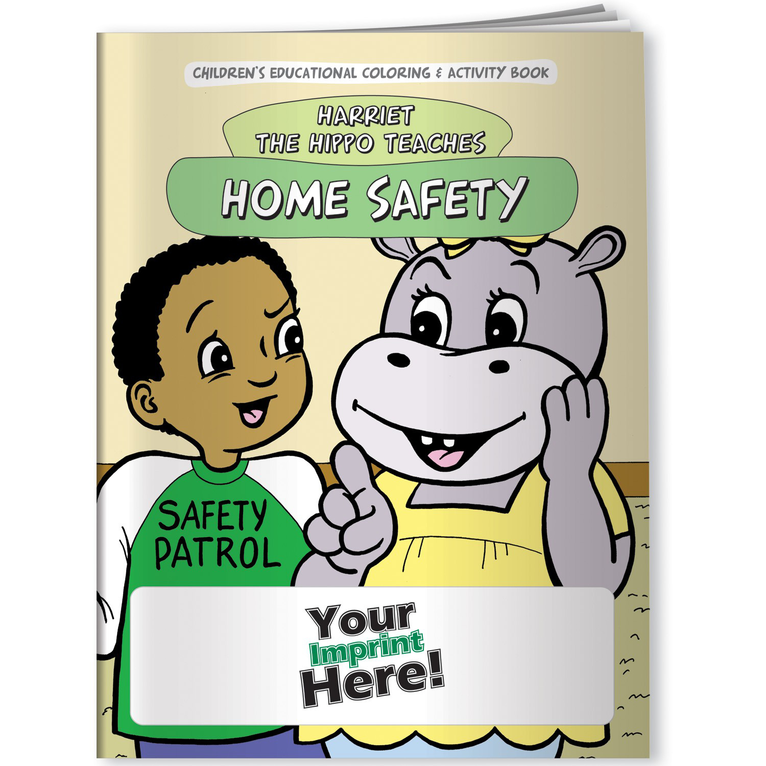 Home safety activity book