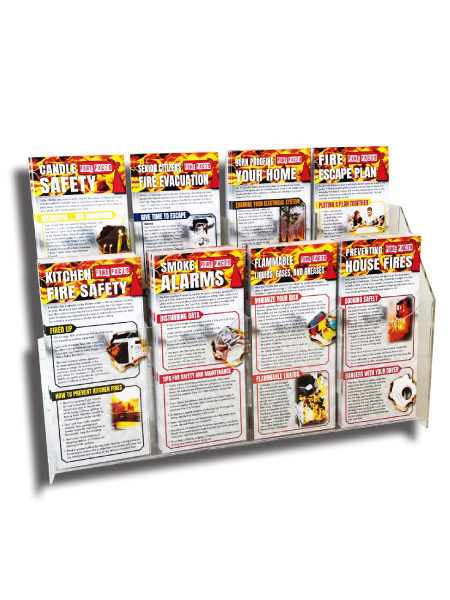 Fire Facts Rack Card Prevention Starter Kit