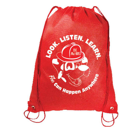 Fire Prevention Week 2018-DRAWSTRING-BACKPACK