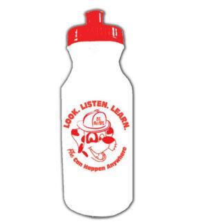 Look. Listen. Learn. 20 oz. Sports Water Bottle