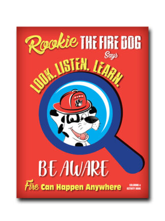 Look. Listen. Learn. Rookie the Firedog Activity Book